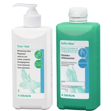 B. Braun Händehygiene Aktions-Set 500 ml Händedesinfektion + 500 ml Pflegelotion