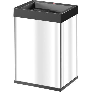 Hailo Big-Box Quick L Großraum-Abfallbox, 35 l Edelstahl