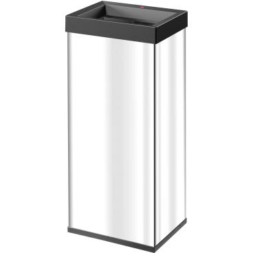 Hailo Big-Box Quick XL Großraum-Abfallbox, 52 l Edelstahl