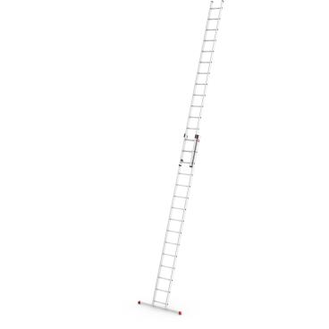Hailo ProfiStep duo Alu-Schiebeleiter, 2-teilig 2 x 15 Sprossen, max. Arbeitshöhe: 840 cm