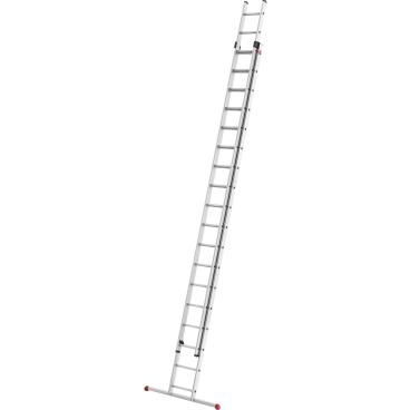 Hailo ProfiStep duo Alu-Schiebeleiter, 2-teilig 2 x 18 Sprossen, max. Arbeitshöhe: 950 cm