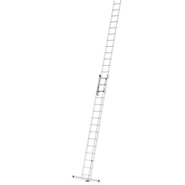 Hailo ProfiStep duo Alu-Seilzugleiter, 2-teilig 2 x 15 Sprossen, max. Arbeitshöhe: 840 cm