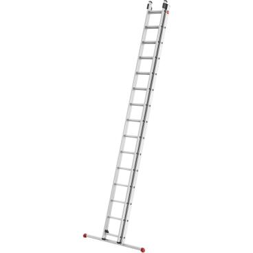Hailo S80 ProfiStep duo Alu-Schiebeleiter, 2-teilig 2 x 15 Sprossen, max. Arbeitshöhe: 840 cm