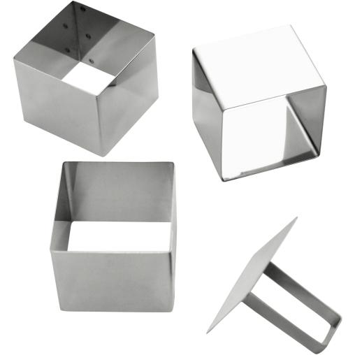 SCHNEIDER Schaumspeiseringe-Set, Quadrat