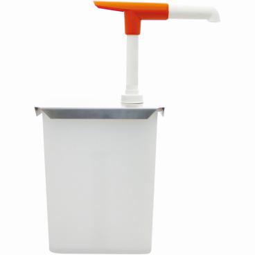 SCHNEIDER Druckknopf-Dosierspender Maße: 120 x 150 x 215 mm, 3 l