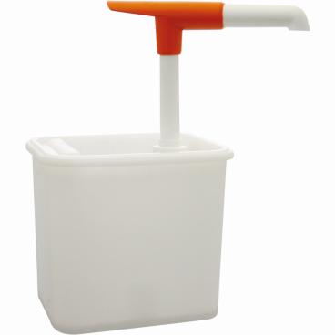 SCHNEIDER Druckknopf-Dosierspender Maße: 120 x 155 x 155 mm, 2 l