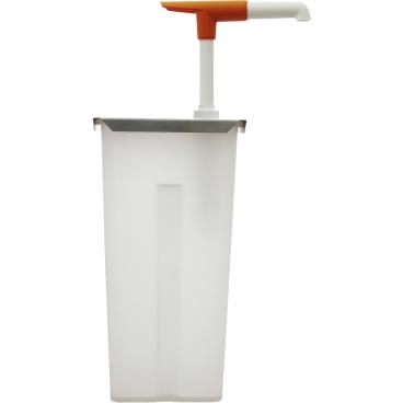 SCHNEIDER Druckknopf-Dosierspender Maße: 105 x 140 x 345 mm, 5 l