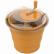 SCHNEIDER Salatschleuder, orange
