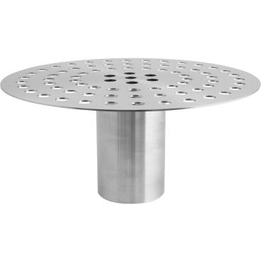 SCHNEIDER Auskühlplatte aus Edelstahl 18/10, rund Durchmesser: 320 mm, Höhe: 150 mm