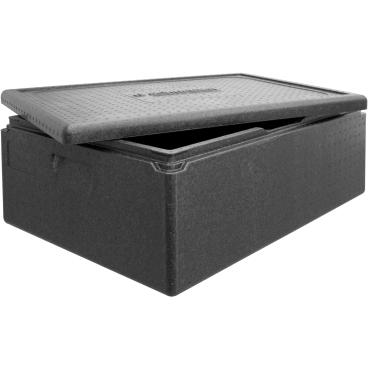 """SCHNEIDER ISOBOX """"Multistar"""" inkl. Deckel, schwarz Außenmaße: 685 x 485 x 260 mm, 53 l"""