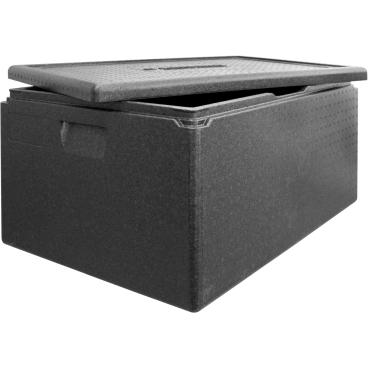 """SCHNEIDER ISOBOX """"Multistar"""" inkl. Deckel, schwarz Außenmaße: 685 x 485 x 360 mm, 80 l"""