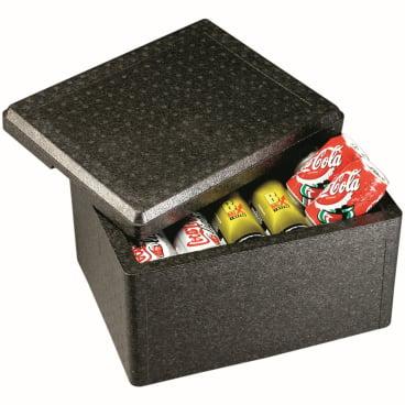 """SCHNEIDER ISOBOX """"Cargo"""" inkl. Deckel und Tragegriff, schwarz Außenmaße: 325 x 255 x 325 mm, 15 l"""