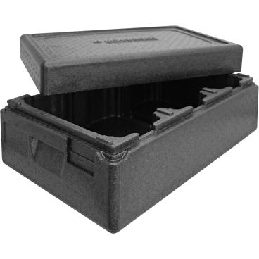 """SCHNEIDER ISOBOX """"Eis"""", schwarz Außenmaße: 600 x 400 x 270 mm, 26 l"""