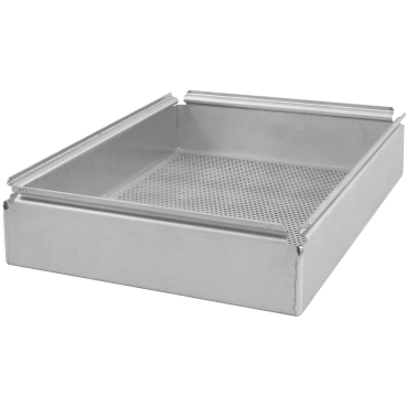 SCHNEIDER Snack-Transportbox o. Deckel, Aluminium Abmessung: 355 x 275 x 40 mm