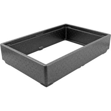 SCHNEIDER Aufsatzrahmen, schwarz Maße: 600 x 400 mm