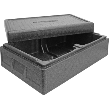 """SCHNEIDER ISOBOX """"Eis"""", schwarz Außenmaße: 600 x 400 x 215 mm, 16 l"""