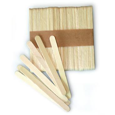 SCHNEIDER Holzstäbe für Multi Silikon-Backform, flach 1 Packung = 500 Stück