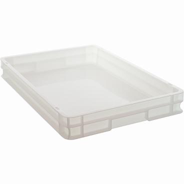 SCHNEIDER Pizzabox, 16,8 l Maße: 40 x 60 cm, weiß, ohne Deckel