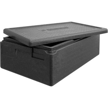 """SCHNEIDER ISOBOX """"Gastro"""" GN1/1 inkl. Deckel, schwarz Außenmaße: 600 x 400 x 230 mm, 30 l"""