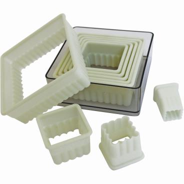 SCHNEIDER Ausstechersatz aus Nylon, Quadrat
