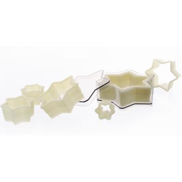 SCHNEIDER Ausstechersatz aus Nylon, Stern 7-teiliges Set, glatt
