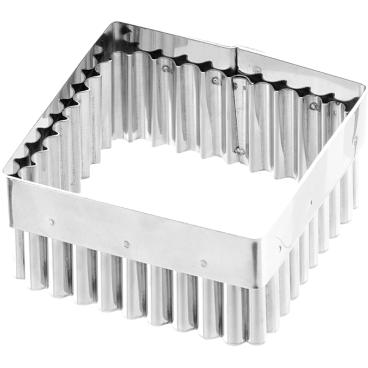 SCHNEIDER Ausstecher, Quadrat Maße: 85 x 85 mm, gezackt