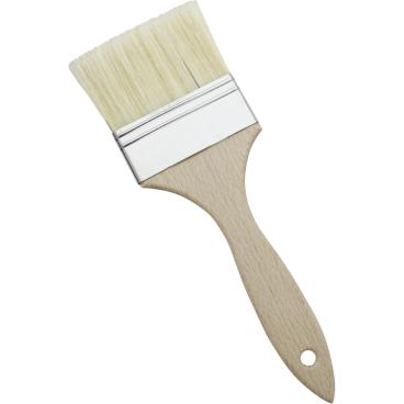 SCHNEIDER Bäckerpinsel mit Holzstiel Breite: 80 mm