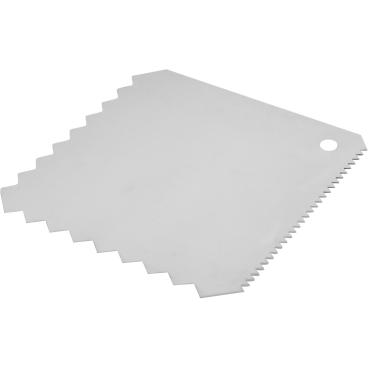 SCHNEIDER Teig- und Dekorschaber Maße: 100 x 100 mm, Quadrat