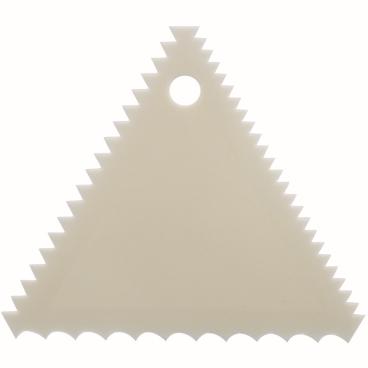 SCHNEIDER Teigschaber, elfenbein Ausführung: Kamm, 105 x 105 x 105 mm