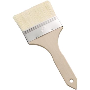 SCHNEIDER Bäckerpinsel mit Holzstiel Breite: 60 mm