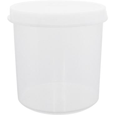 SCHNEIDER Vorratsdose, rund, weiß Durchmesser: 120 mm, Höhe: 125 mm, 1000 ml