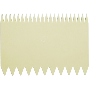 SCHNEIDER Teigschaber, elfenbein Ausführung: Kamm, 112 x 78 mm