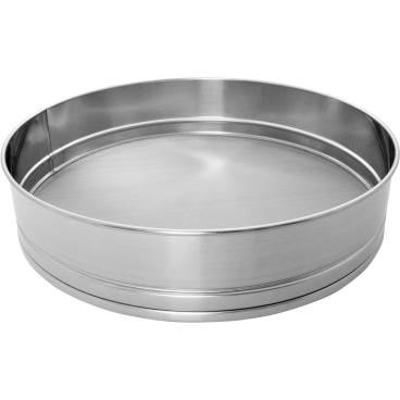 SCHNEIDER Mehl- und Zuckersieb, Ø 400 mm Maschenweite: 0,60 mm, Mehl, fein