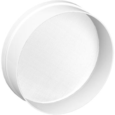 SCHNEIDER Staub- und Mehlsieb, weiß Durchmesser: 240 mm, Maschenweite: 1,0 mm
