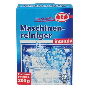 ORO®-frisch-aktiv Maschinenreiniger 1 Packung = 200 g