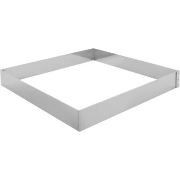 SCHNEIDER Tortenring, quadrat, 300 x 300 mm Höhe: 40 mm