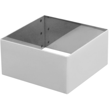 SCHNEIDER Tortenring, quadrat, 100 x 100 mm Höhe: 50 mm