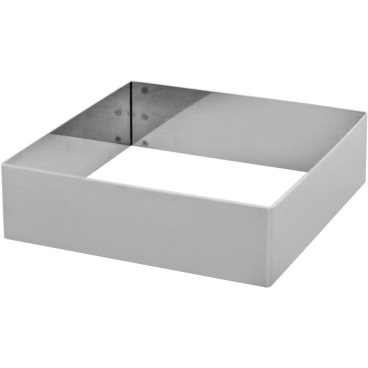 SCHNEIDER Tortenring, quadrat, 140 x 140 mm Höhe: 40 mm