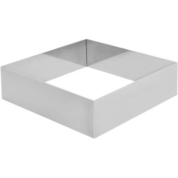 SCHNEIDER Tortenring, quadrat, 160 x 160 mm Höhe: 50 mm