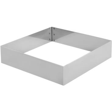 SCHNEIDER Tortenring, quadrat, 180 x 180 mm Höhe: 40 mm