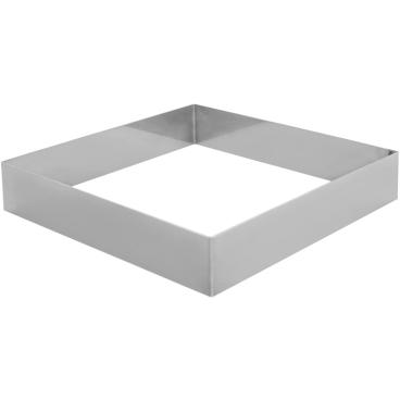 SCHNEIDER Tortenring, quadrat, 200 x 200 mm Höhe: 40 mm