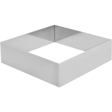 SCHNEIDER Tortenring, quadrat, 180 x 180 mm Höhe: 50 mm