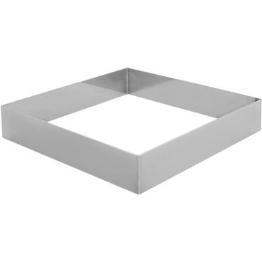 SCHNEIDER Tortenring, quadrat, 220 x 220 mm Höhe: 40 mm
