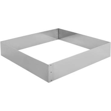 SCHNEIDER Tortenring, quadrat, 240 x 240 mm Höhe: 50 mm