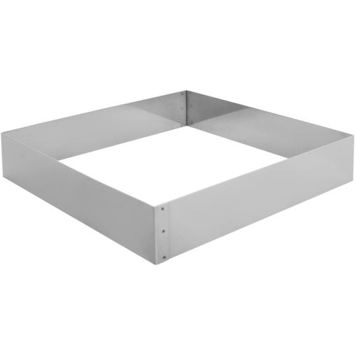 SCHNEIDER Tortenring, quadrat, 240 x 240 mm