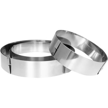 SCHNEIDER Tortenring, rund Durchmesser: 180 - 300 mm, Höhe: 50 mm