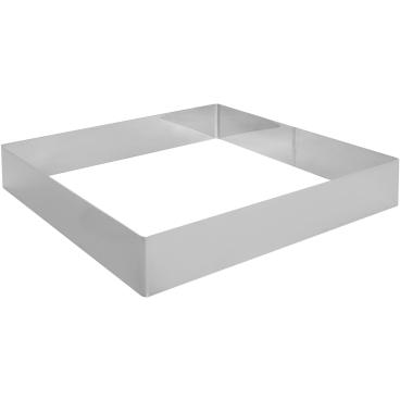 SCHNEIDER Tortenring, quadrat, 300 x 300 mm Höhe: 50 mm