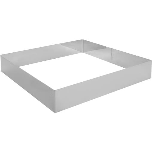 SCHNEIDER Tortenring, quadrat, 300 x 300 mm