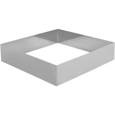 SCHNEIDER Tortenring, quadrat, 220 x 220 mm Höhe: 50 mm