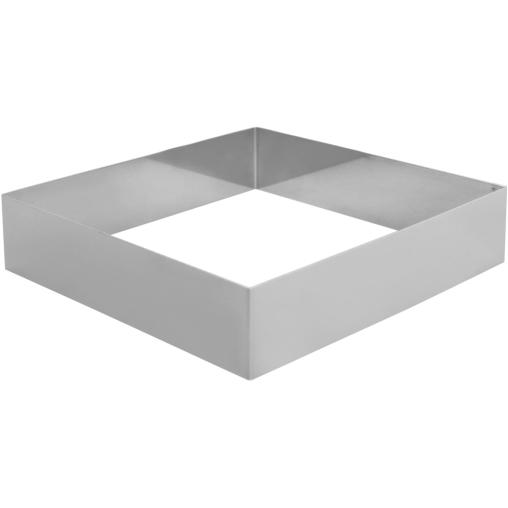SCHNEIDER Tortenring, quadrat, 220 x 220 mm